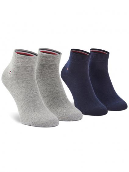 TOMMY HILFIGER 2 Pack ponožky (9)