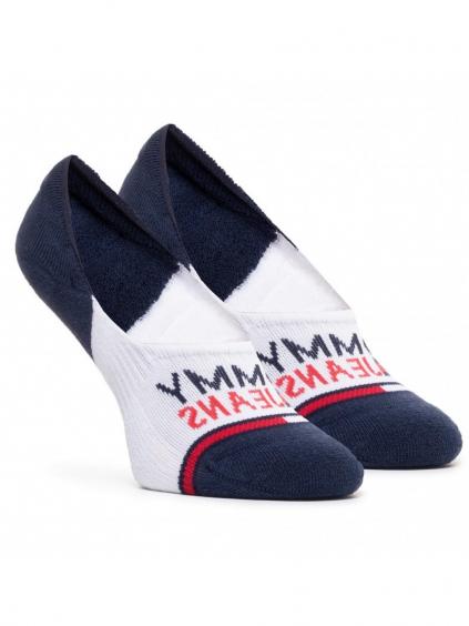 TOMMY JEANS Navy 2 Pack ponožky