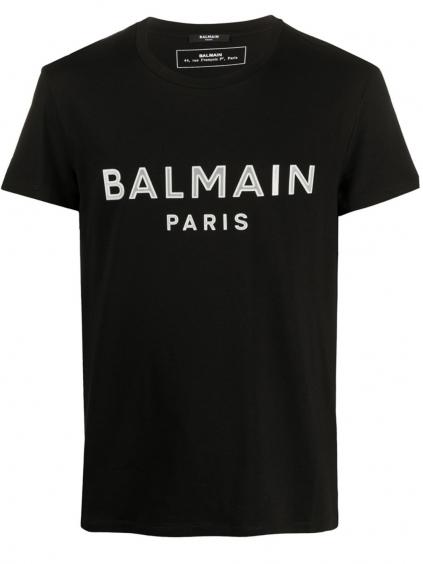 BALMAIN Paris Logo White tričko (4)