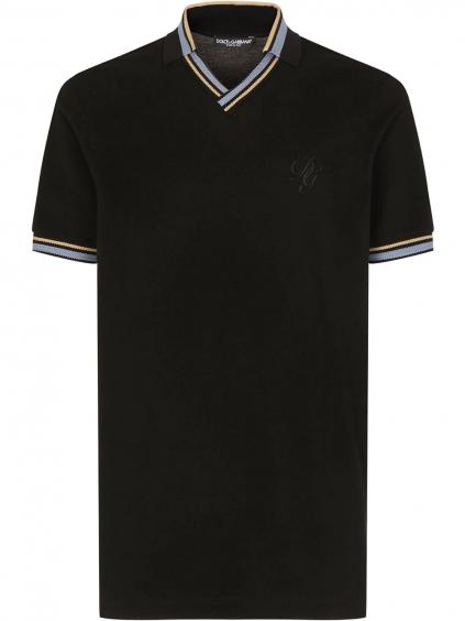 DOLCE & GABBANA Logo polo tričko (4)