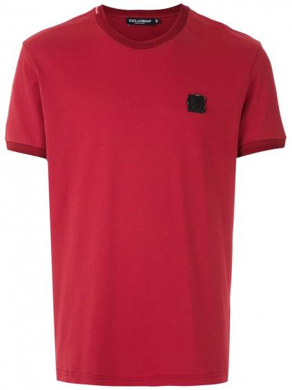 DOLCE & GABBANA Logo Red tričko (3)