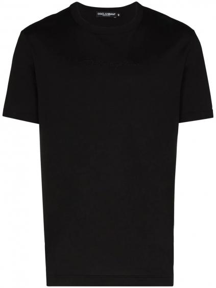DOLCE & GABBANA Logo Black tričko