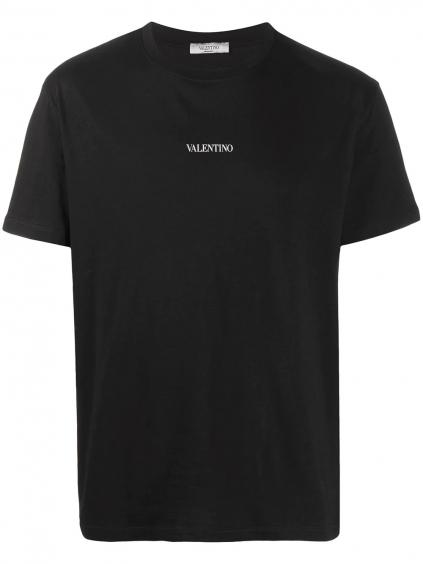VALENTINO Logo Black tričko (7)
