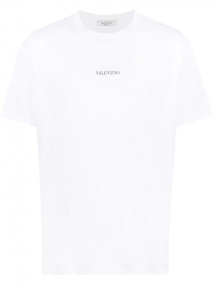 VALENTINO Logo White tričko (3)