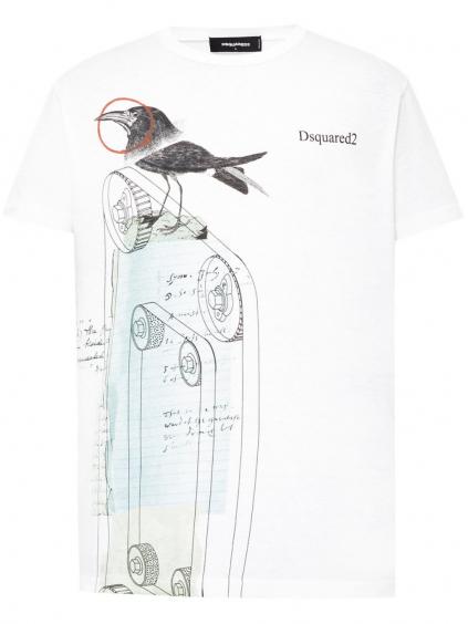 DSQUARED2 Raven tričko (3)