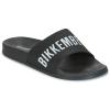 BIKKEMBERGS Black pánske šľapky