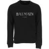 Balmain Paris čierna pánska mikina