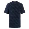 fendi cobalto t shirt allover ff chenille panske tricko tmavomodre (1)