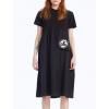 #VDR Logo Black šaty (1)