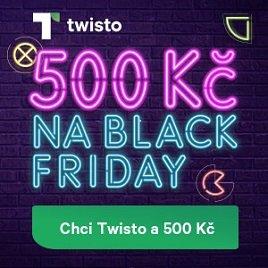 Twisto 500Kč na nákup