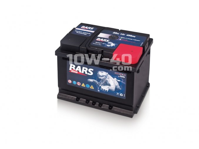Autobaterie BARS 55Ah 12V 480A