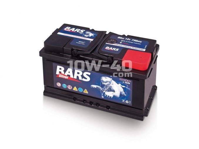 Autobaterie BARS 80Ah 12V 730A