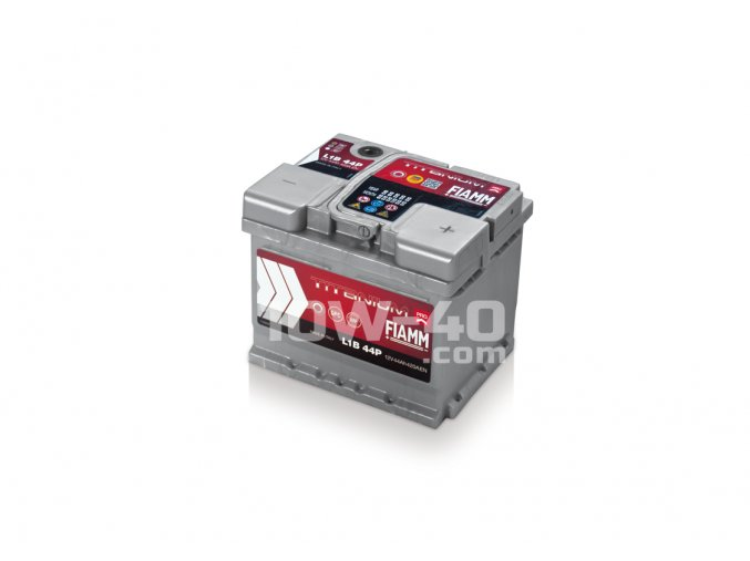 Autobaterie FIAMM Titanium Pro 44Ah 12V 390A