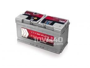 Autobaterie FIAMM Titanium Pro 100Ah 12V 870A