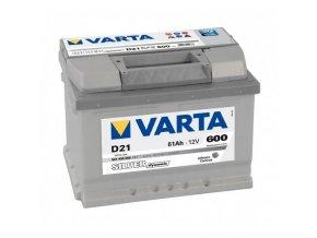Autobaterie VARTA SILVER Dynamic 61Ah 12V D21