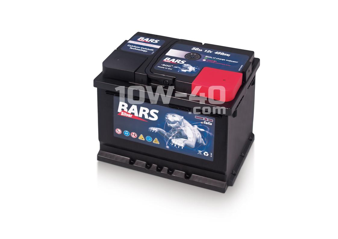 Autobaterie BARS 50Ah 12V 470A