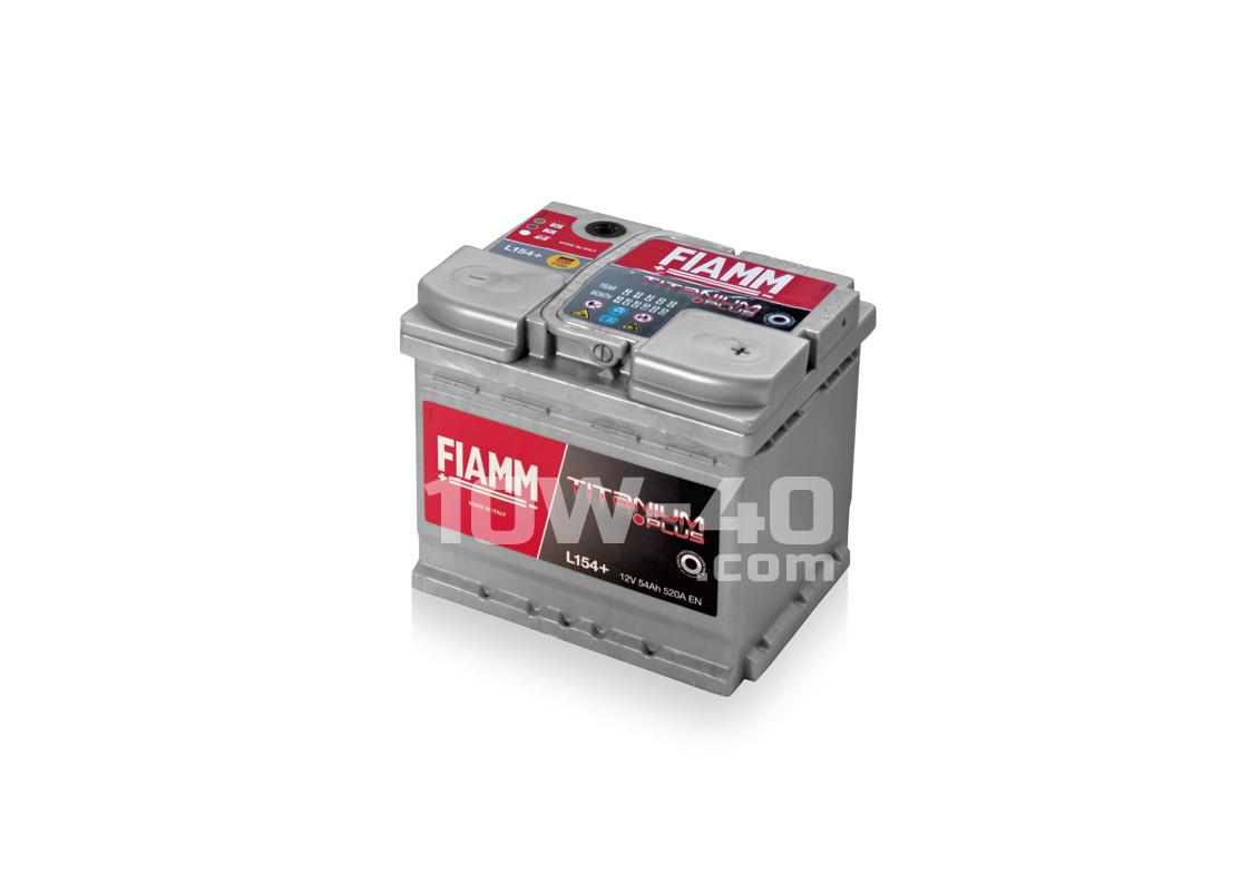 Autobaterie FIAMM Titanium Plus 54Ah 12V 520A