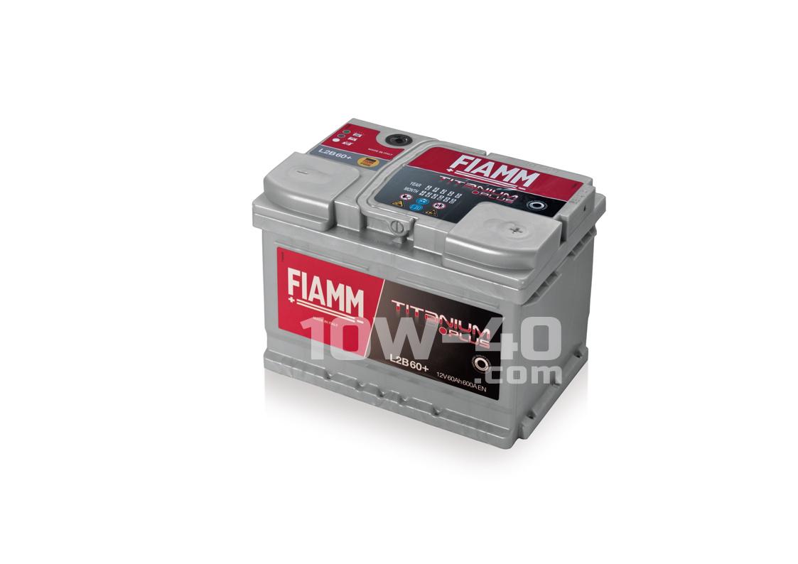 Autobaterie FIAMM Titanium Pro 60Ah 12V 600A