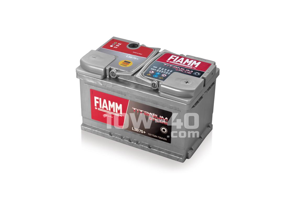 Autobaterie FIAMM Titanium Plus 75Ah 12V 730A