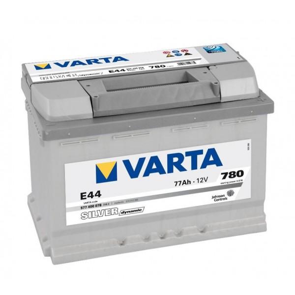 Autobaterie VARTA SILVER Dynamic 77Ah 12V E44