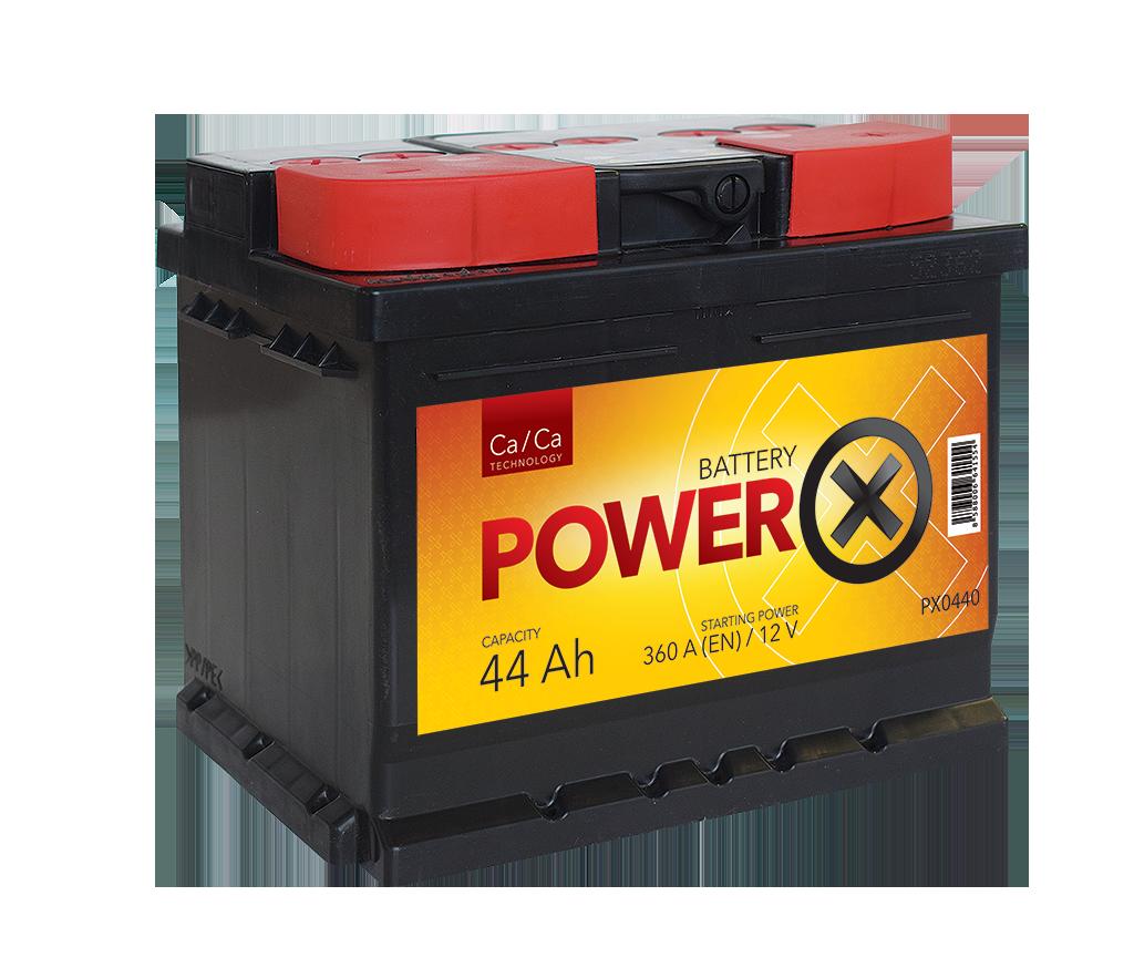 PowerX new 12V/44 Ah Ca/Ca