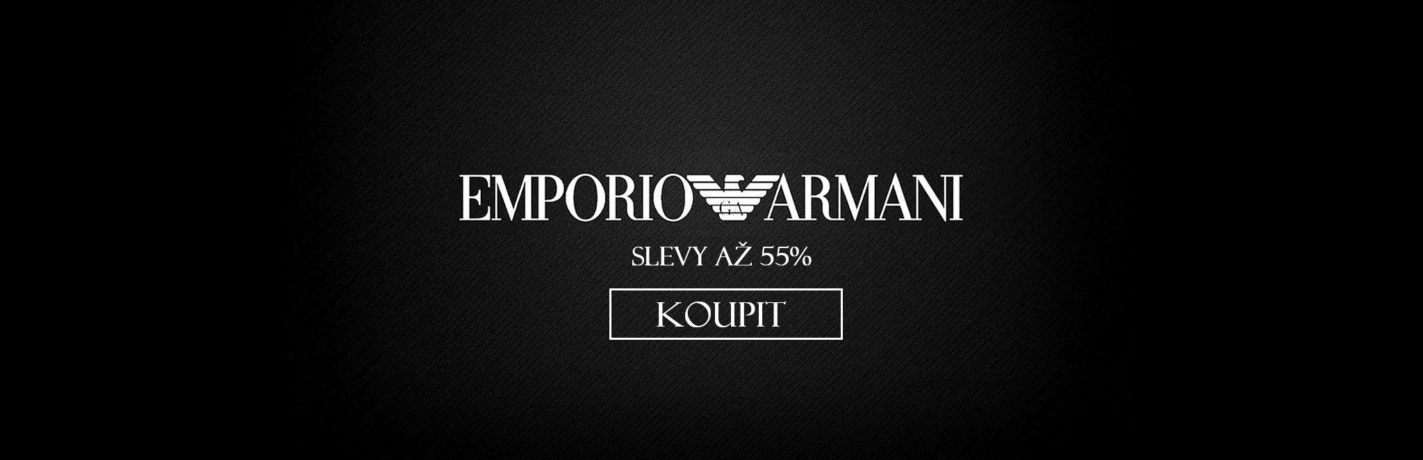 Hodinky Emporio Armani se slevou až 55%