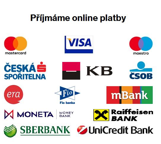 Možnosti online platby