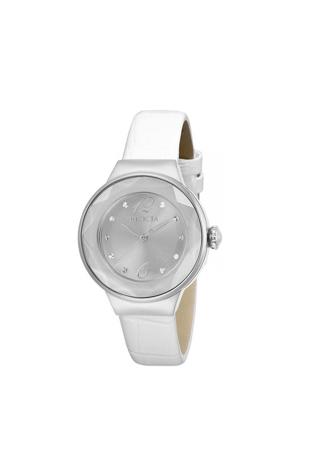 invicta angel quartz silver dial ladies watch 29781