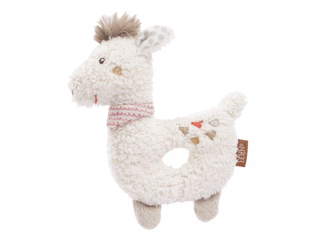 Baby Fehn mäkký krúžok lama Peru