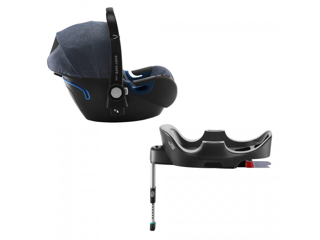 Autosedačka Britax-Römer Baby-Safe 2 i-Size s Isofix základňou