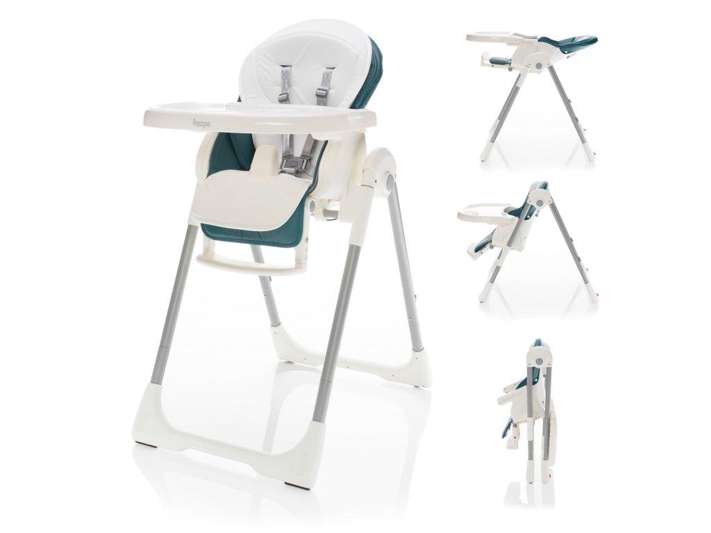 Detská jedálenská stolička Zopa Ivolia