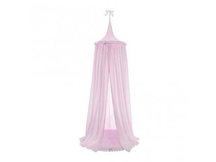 Závesný stropný luxusný baldachýn + podložka Belisima ružový