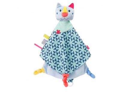Baby Fehn maznáčik Color friends deluxe mačička
