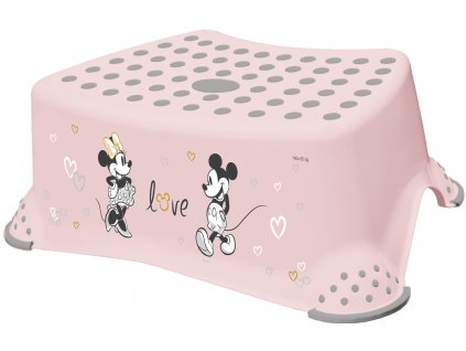 Keeeper stupienok k WC-umývadlu Mickey&Minnie pastel