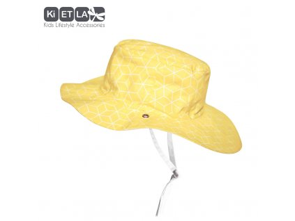 KiETLA obojstranný klobúčik s UV ochranou Cubic Sun