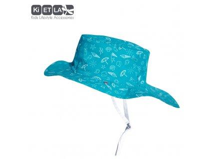 KiETLA obojstranný klobúčik s UV ochranou Swimming pool