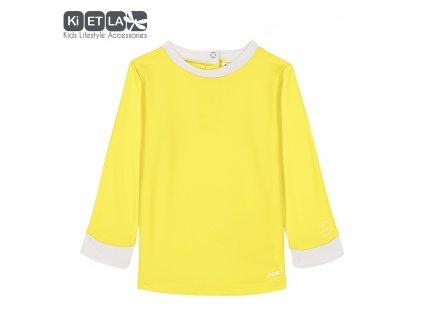 KiETLA detský žltý top s UV ochranou