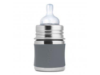Pura nerezová fľaša s cumlíkom 150 ml