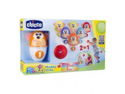 Chicco hračka kolky - opičky