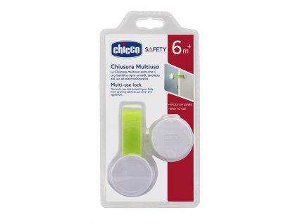 Bezpečnostná plastová poistka na dvierka Chicco Multi-lock