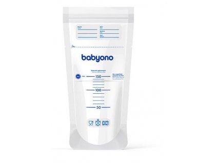 BabyOno vrecká na materské mlieko 20 kusov