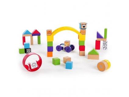 Drevená stavebnica Baby Einstein Curious Creations Kit HAPE