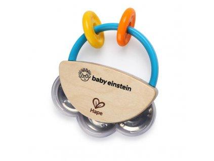 Drevená hudobná tamburína Baby Einstein HAPE