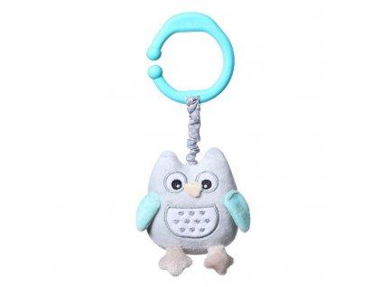 BabyOno vibračná hračka na C krúžku sova Sofia
