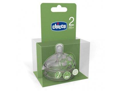 Náhradné cumlíky na fľaše Chicco Step up 2 kusy