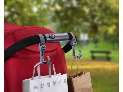 Chicco háčiky na tašku na kočík univerzálne