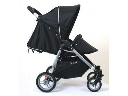 Nánožník ku kočíku Valco Baby Snap 4 Black