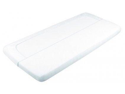 Nepremokavá plachta Babymatex Tencel Biela 60x120 cm
