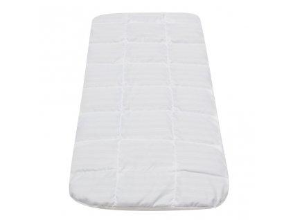 Detský matrac do kočíka New Baby BOBO BASIC 75x35x3 molitan-pohánka biely