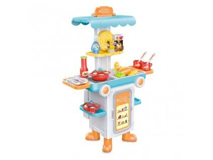 Detská rozkladacia kuchynka autobus Bayo + príslušenstvo